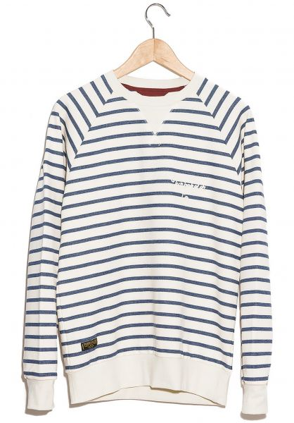 Turbokolor Sweatshirts und Pullover Crewneck marinestripes Vorderansicht