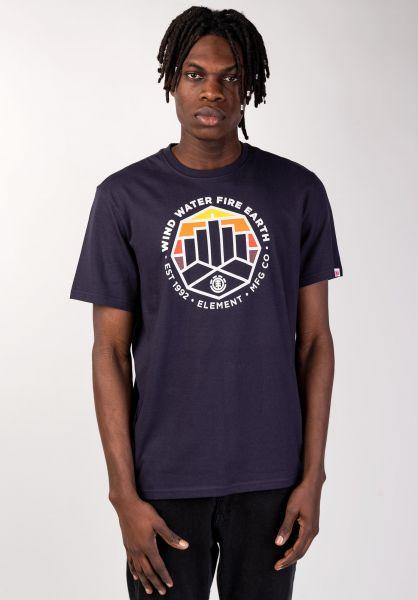 Element T-Shirts Passage eclipsenavy vorderansicht 0399938