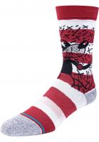stance-socken-mickey-tv-haring-red-vorderansicht-0632225