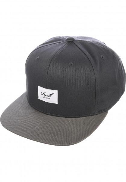 Reell Caps Pitchout 6-Panel darkgrey-lightgrey Vorderansicht