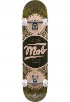 MOB-Skateboards Skateboard komplett Gold Label Full green Vorderansicht