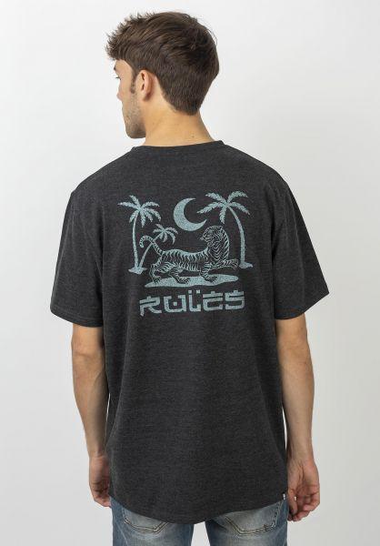 Rules T-Shirts Prowler darkgreymottled vorderansicht 0399960