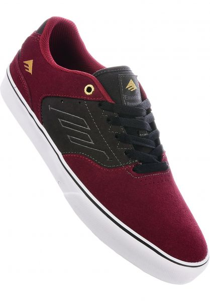 Emerica Alle Schuhe Reynolds Low Vulc red-grey Vorderansicht