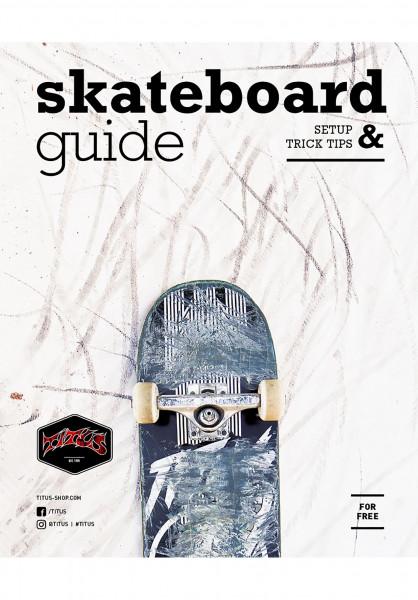 TITUS Promoartikel Skateboard Guide (english) no color Vorderansicht