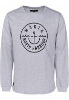Makia-Sweatshirts-und-Pullover-Crown-lightgrey-Vorderansicht