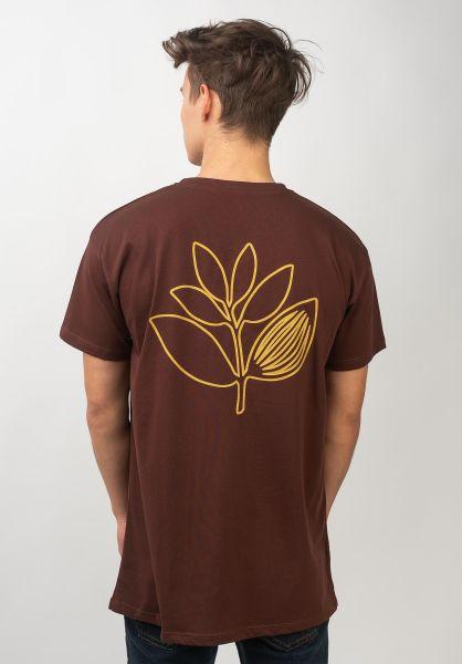Magenta T-Shirts Constellation burgundy vorderansicht 0320214