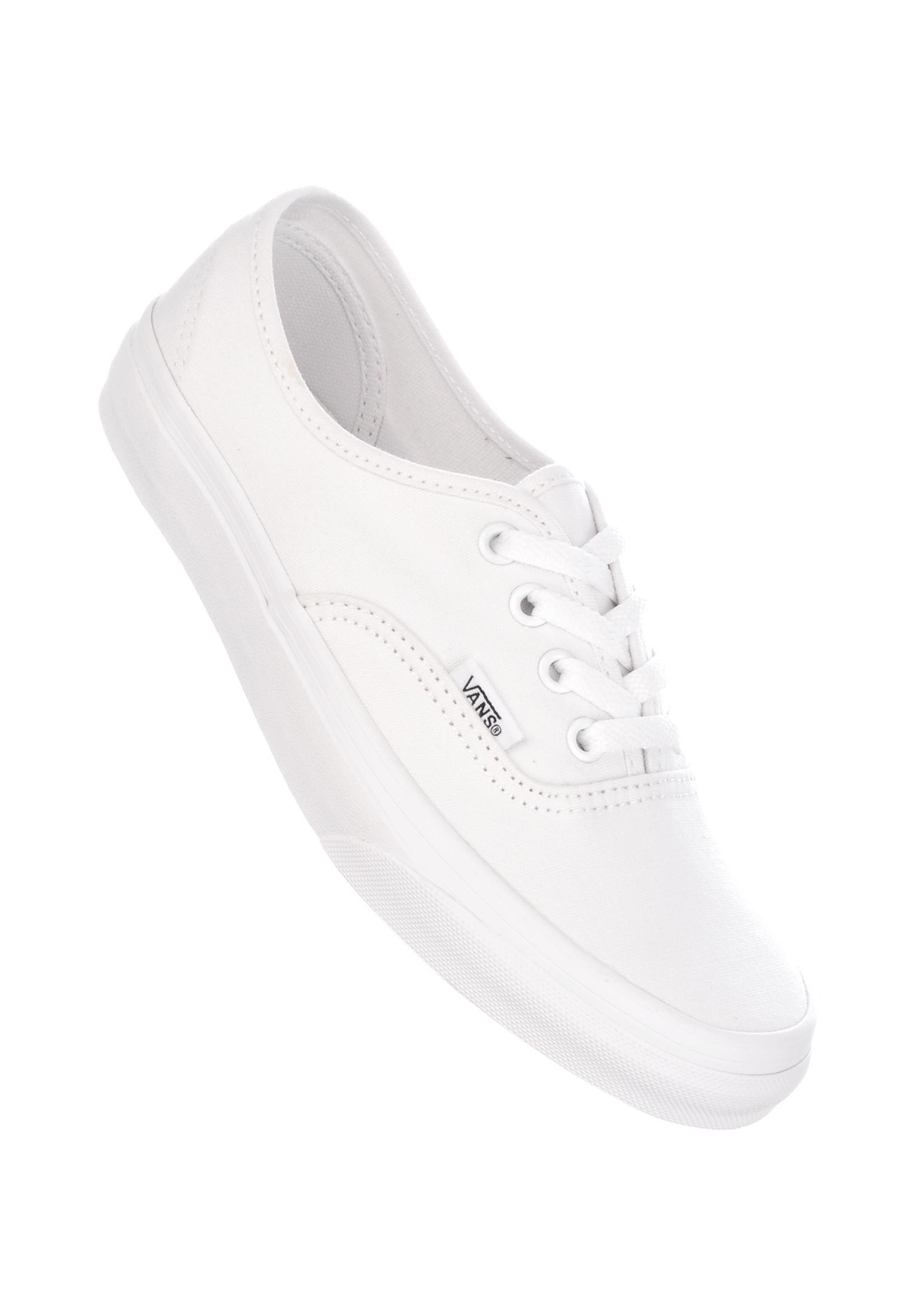 05b5af9624890d Authentic Classic Vans All Shoes in truewhite for Women