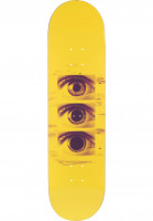 Favorite Skateboard Decks Tripping yellow Vorderansicht