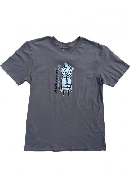 Darkroom T-Shirts Incubator asphalt vorderansicht 0323920