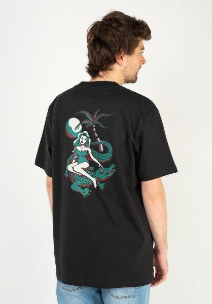Dickies T-Shirts JF Graphic black vorderansicht 0323233