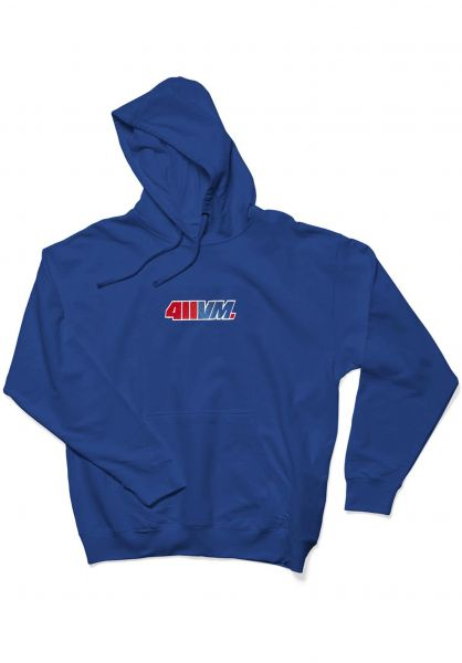 Transworld Hoodies 411VM Embroidered blue vorderansicht 0445215