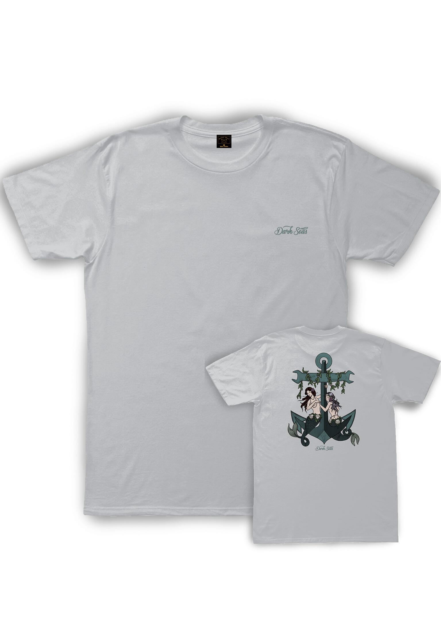184444b2e463 Temptress Dark Seas T-Shirts in silver for Men | Titus
