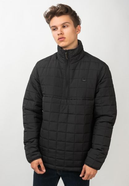 Billabong Winterjacken Boundary Reversible Puffer black vorderansicht 0250136