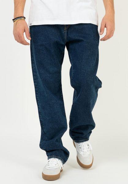 Carhartt WIP Jeans Pontiac Pant bluestonewashed vorderansicht 0269077