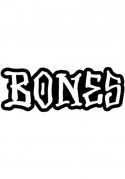"""Bones Wheels Verschiedenes OG Bones 12"""" Sticker black vorderansicht 0972242"""