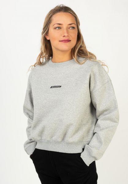 Dickies Sweatshirts und Pullover Ferriday greymelange vorderansicht 0422941