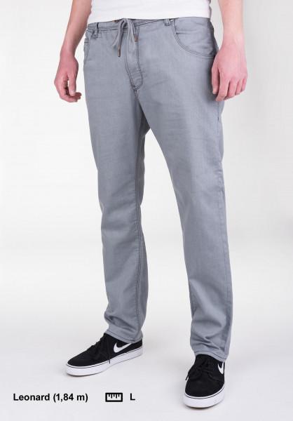 Reell Jeans Jogger Jeans grey-knit-denim Vorderansicht