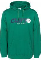 Cleptomanicx Hoodies Lit Hood pepper-green Vorderansicht