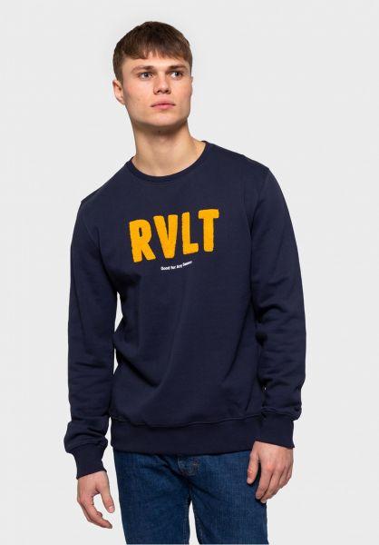 RVLT Sweatshirts und Pullover 2617 BRA navy vorderansicht 0422833