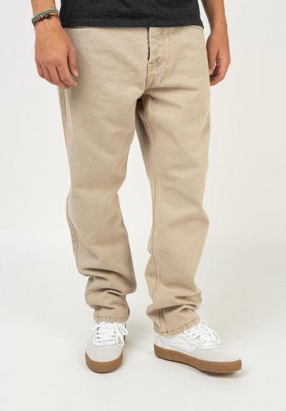 Carhartt WIP Jeans Newel Pant (Cropped) blue-sandbleached vorderansicht 0227155