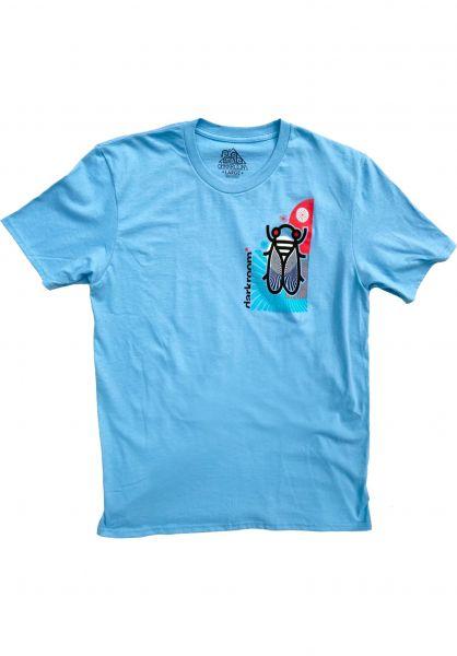 Darkroom T-Shirts La Cigarra lightblue vorderansicht 0323921