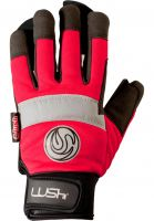 Lush Handschoner Freeride Gloves red Vorderansicht