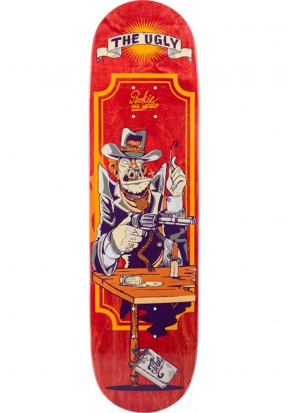 TITUS Skateboard Decks The Ugly red-orange vorderansicht 0261350