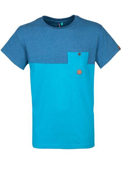 alife-&-kickin T-Shirts Leo smaragd Vorderansicht
