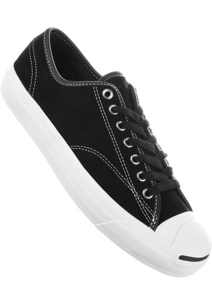 Converse CONS Alle Schuhe Jack Purcell Pro black-black-white Vorderansicht 10c607b7a