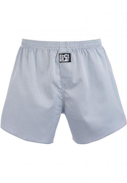 Fourasses Unterwäsche Stripes white-blue vorderansicht 0213307