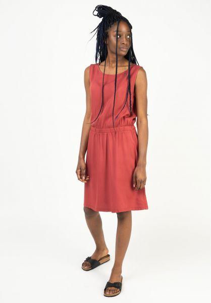Ragwear Kleider Kimmie henna 121 vorderansicht 0801587