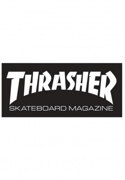 Thrasher Verschiedenes Skate Mag Mini Sticker black Vorderansicht