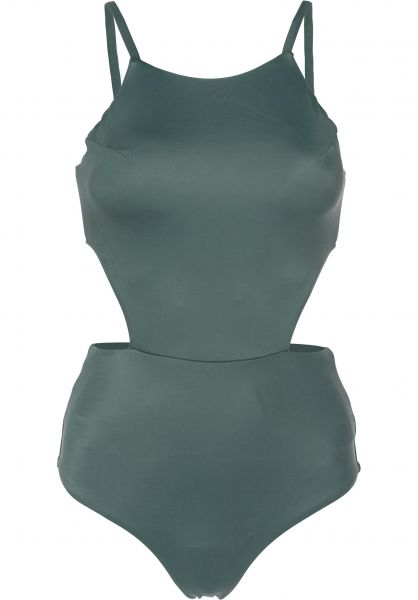 RVCA Beachwear Solid One Piece mallardgreen Vorderansicht