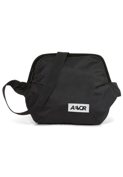 AEVOR Hip-Bags Hip Bag Plus ripstop-black vorderansicht 0169112