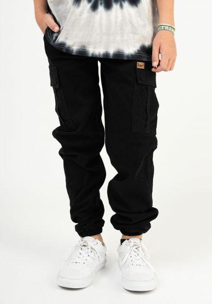TITUS Hosen und Jeans Hybrid Kids black vorderansicht 0520993