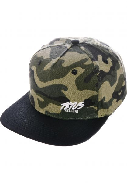 TITUS Caps Flash Mini Snapback camouflage-black vorderansicht 0565124