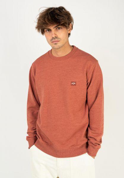 Billabong Sweatshirts und Pullover All Day sangria vorderansicht 0422310