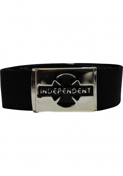 Independent Gürtel Clipped black Vorderansicht