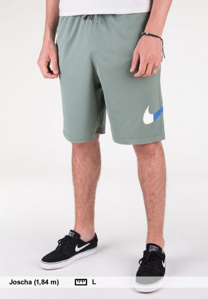 Nike SB Shorts Sunday GFX Fill claygreen Vorderansicht