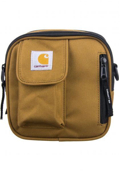 Carhartt WIP Taschen Essentials hamiltonbrown Vorderansicht