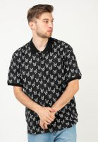obey-polo-shirts-butterfly-blackmulti-vorderansicht-0138447