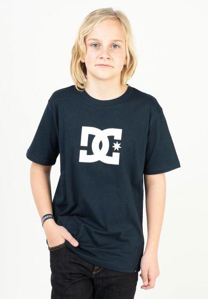DC Shoes T-Shirts Star Kids navyblazer vorderansicht 0369499