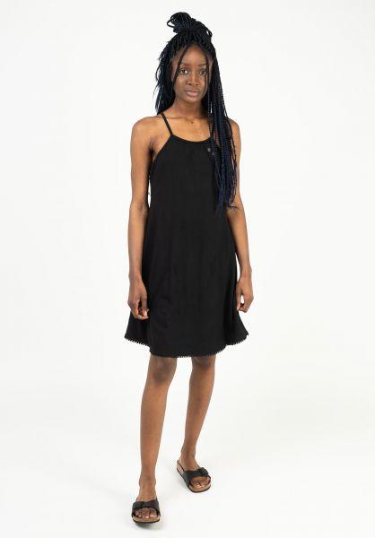 Ragwear Kleider Serafina black 121 vorderansicht 0801512