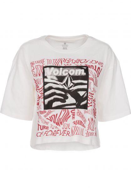 Volcom T-Shirts Super Stoned white Vorderansicht