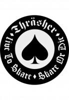Thrasher-Verschiedenes-Oath-Sticker-white-Vorderansicht