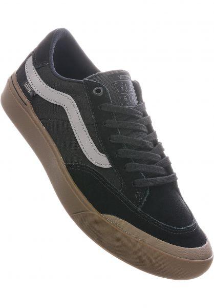 Vans Alle Schuhe Berle Pro black-darkgum vorderansicht 0604561