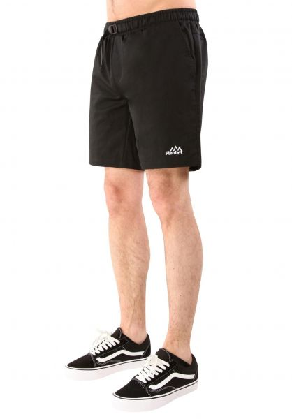 Plenty Humanwear Shorts Day Off Jogger Short black Vorderansicht