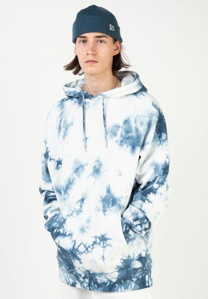 TITUS Hoodies Script Hoodie blue-batik vorderansicht 0445313