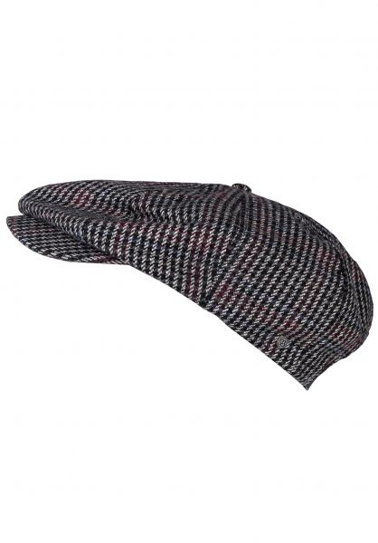 Brixton Hüte Brood Adjustable black-washednavy vorderansicht 0580372