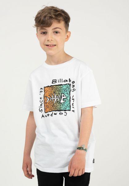 Billabong T-Shirts Mondo Boy white vorderansicht 0323821